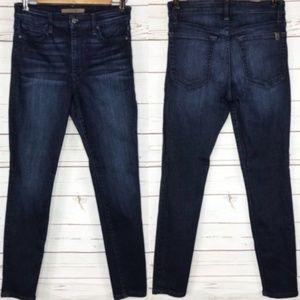 Joe's Jeans Hannah Skinny Ankle Dark Wash Stretch